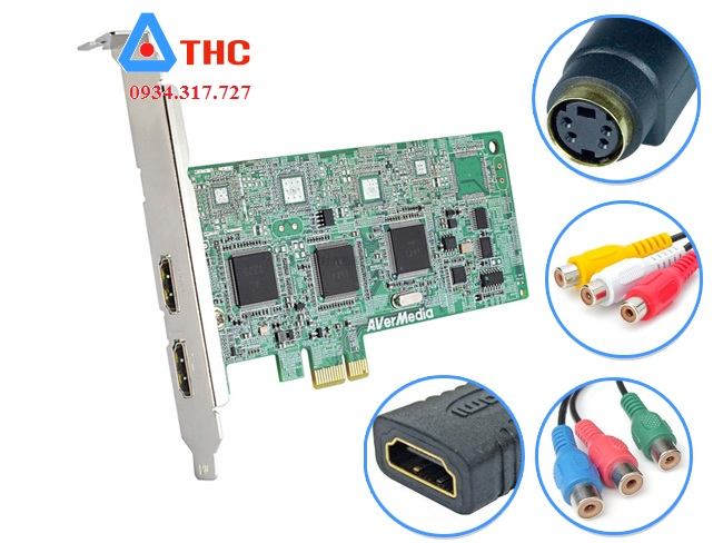 CARD GHI HÌNH HDMI, AV, S-VIDEO AVERMEDIA C027