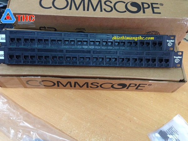 Patch Panel Commscope Krone Cat6 24 Cổng