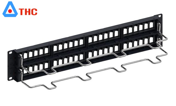 Patch Panel 48 Port CAT5E COMMSCOPE (760237041 | 9-1375091-2)