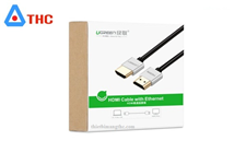 Cáp HDMI 2.0 Ugreen 4K Ultra HD 5M HD117-50304