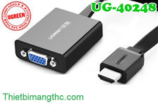 Cáp HDMI ra VGA + Audio 3.5mm Ugreen 40248