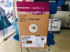 Dây cáp mạng Commscope.AMP Cat5 UTP 8 sợi đồng 24AWG, Solid, CM, 305m, White