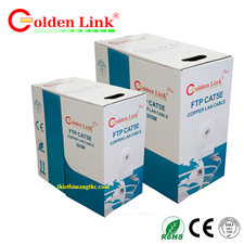 Dây mạng cat5e FTP Golden Link