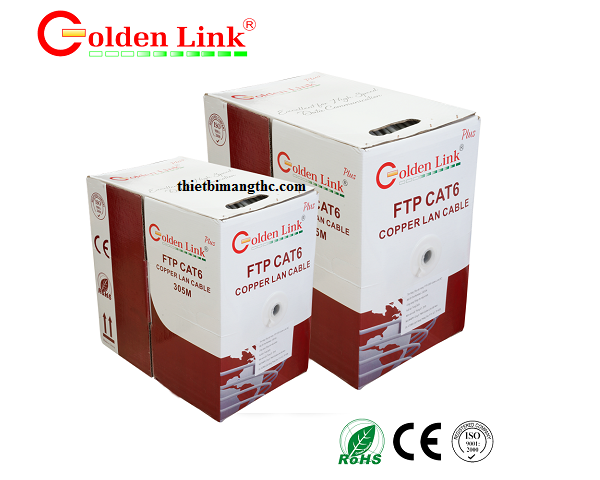 Dây mạng cat6 FTP Golden Link
