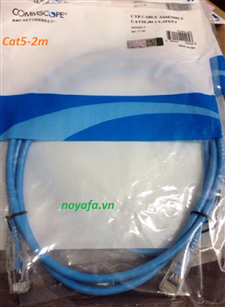 Dây nhẩy Patch cord Commscope cat5 dài 2m