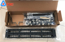 Patch panel Commscope 48 cổng cat6 760237041 | CPP-UDDM-SL-2U-48