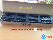 Patch Panel, Thanh đấu nối Patch Panel AMP 48 Port cat6
