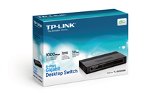 Switch 8 Port Gigabit TL-SG1008D TP-Link
