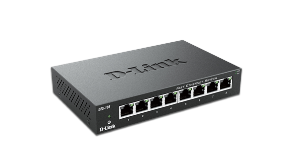 Switch D-Link 8 Port 10/100