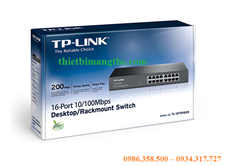 Switch nối mạng TP-LINK TL-SF1016 DS