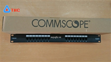 Thanh đấu nối, Patch Panel Commscope Cat6 16 port mã 1375016-2