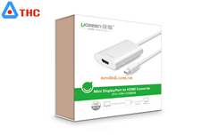 Thunderbolt Cáp chuyển Mini Displayport  to HDMI Ugreen