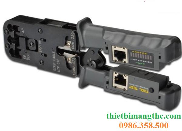 Kìm mạng đa năng HT-022 bấm đầu mạng RJ45,RJ11,RJ12