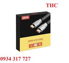 Cáp HDMI 2.0 4k Dài 3m Unitek Y-C139 LGY