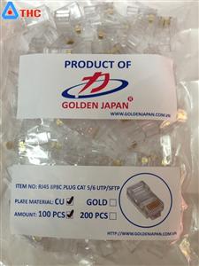 Hạt mạng RJ45 Cat5e GoldenJapan